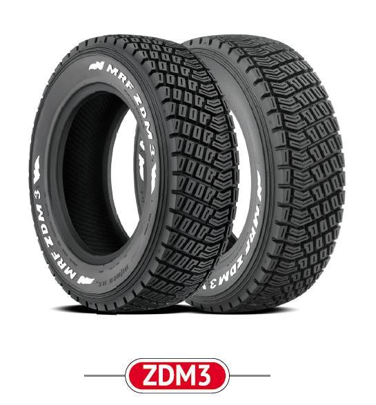 MRF Motorsport Tyres ZDM3 Gravel Rally